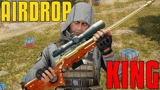 Download AIRDROP KING - AWM & MK14 With 15x | PUBG Highlights Video