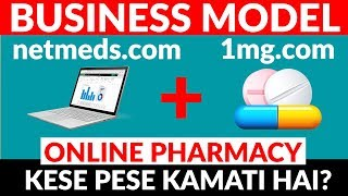 Download E-Pharmacy Business Model | Netmeds 1mg Business Model | Case Study | Hindi Video