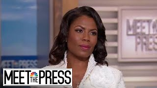 Download Omarosa: 'I Had A Blind Spot Where It Came To Donald Trump' (Full) | Meet The Press | NBC News Video