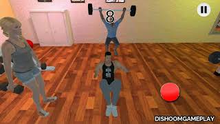 Download Virtual Gym Fit The Fat Fitness Game (by Super X Studio) - Android Gameplay #1 | Dishoomgameplay Video