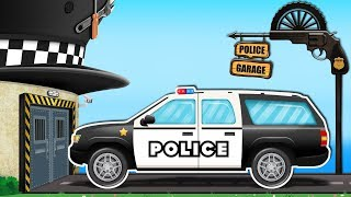 Download Kids Playtime | Rusty Car Garage | Police SUV | Police Car | Street Vehicles Video