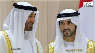 Download Dubai royal wedding: 𝙎𝙝𝙚𝙞𝙠𝙝 𝙃𝙖𝙢𝙙𝙖𝙣 (فزاع 𝔽𝕒𝕫𝕫𝕒) & brothers celebrate with UAE Rulers (6.06.2019) Video