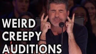 Download America's Got Talent 2016 MOST INSANE CREEPY AUDITIONS Video