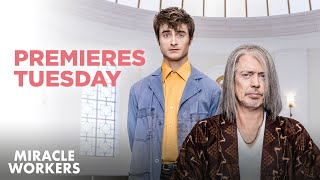 Download Miracle Workers: Premieres Tuesday at 10:30/9:30c | TBS Video