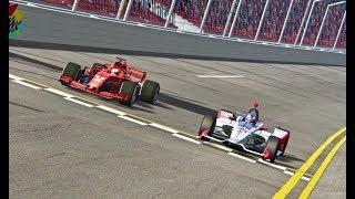 Download Ferrari F1 2018 vs IndyCar 2018 - Oval Track Video