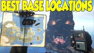 Download Ark Survival Evolved Best Base Locations For The CENTER MAP & Sick Cinematic Views Video