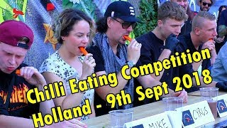 Download Chilli Eating Competition - Eindhoven, Holland (Netherlands) - Sept 9th 2018 Video