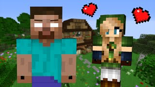 Download If a Girl fell in Love with Herobrine - Minecraft Video