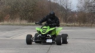 Download Yamaha Raptor Street Quad- FZR600 4 Zylinder Video