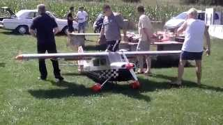 Pilot-RC 20-35cc 90″ gas power trainer Free Download Video