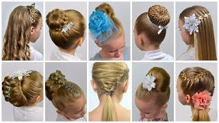 Download 10 EASY Beautiful ELEGANT Hairstyles for PARTY | Natural Hairstyles | Collection Party hairstyles#11 Video