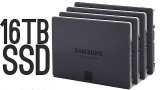 Download Samsung 16 Terabyte SSD [World's Largest!] Video