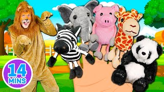 Download Animals Finger Family Song - Mega Finger Family Collection Part 2! Learn to count with the animals Video