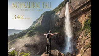Download Trek to Nohkalikai Falls - Meghalaya | Tallest Waterfall in India | GoPro HD Video
