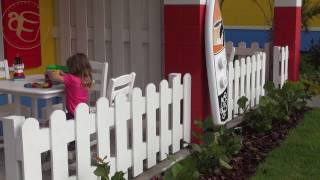 Download LEGOLAND Beach Retreat - tour of the LEGO bungalow, LEGOLAND pool and Sandy's Restaurant Video