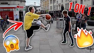 Download STREETBALL PLAYER CONMAN 1 ON 1 WITH THE PUBLIC Video