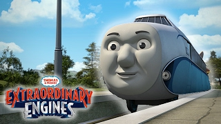 Download Hugo The Rail Zeppelin Arrives on Sodor | Extraordinary Engines | Thomas & Friends Video