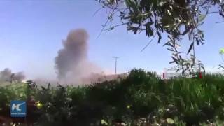 Download Syria army advances in Hama countryside amid rebels' retreat Video