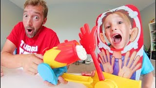 Download Father & Son PLAY PIE FACE CANNON! Video