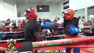 Download (BEST VIDEO QUALITY) FLOYD MAYWEATHER SPARS UNDEFEATED PROSPECT DON MOORE Video