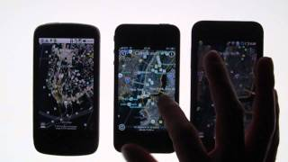 Download Google Earth - iPhone 4 Vs Android Video