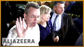 Download 🇺🇸🇹🇷US pastor Andrew Brunson leaves Turkey after release l Al Jazeera English Video