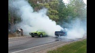 Download Lewiston Car Show Parade & Mega Burnouts Video