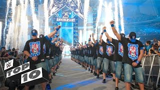 Download 20 Greatest WrestleMania Entrances: WWE Top 10 Special Edition Video