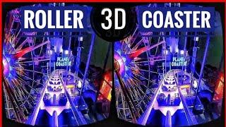 Download 🔴 Best VR Top 2 Roller Coaster 3D VR Videos 3D SBS for VR BOX 3D not 360 VR Video
