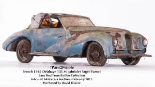 Download Baillon Barn Find Restored by David Disiere for Pebble Beach Concours d'Elegance Video