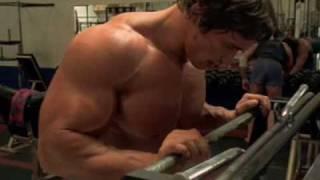 Download Arnold Schwarzenegger training Video