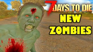 Download 7 Days To Die Mods: INSANE NEW ZOMBIES!! 7 Days To Die Valmod | (7 Days To Die Gameplay) Video