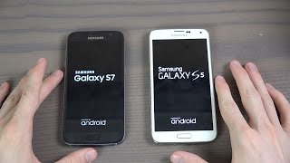 Download Samsung Galaxy S5 Official Android 6.0.1 vs. Samsung Galaxy S7 - Which Is Faster? Video