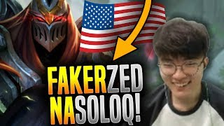 Download When Faker Plays Zed in NA SoloQ! - Faker is Ready to Play Zed in NA All Stars!   SKT T1 Replays Video