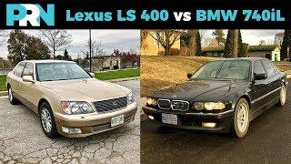Download Lexus LS 400 vs BMW 740iL | TestDrive Showdown Video