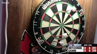 Download Rattlesnake vs ezgame- WDA Darts Video