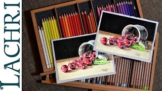 Download Polychromos Vs Luminance colored pencil review & demo w/ Lachri Video