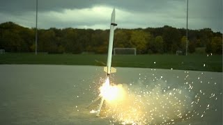 Download 6ft Rockets in Slow Motion - The Slow Mo Guys Video