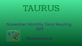 Download TAURUS NOVEMBER 2019 MONTHLY TAROT READING Video