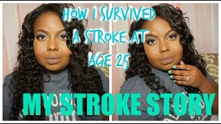 Download How I survived a Stroke at 25: My Story Video