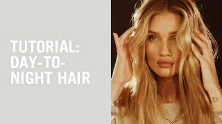 Download Flat-iron waves and evening ponytail tutorial with Laura Polko Video