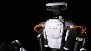 Download Humanoid Dual Arm Industrial Robot NEXTAGE Video