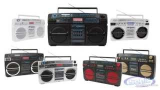 Download Lasonic Bluetooth Ghetto Blaster Boomboxes | Classic Design With Modern Twist Video