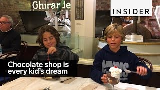 Download This chocolate shop is every little kid's dream Video