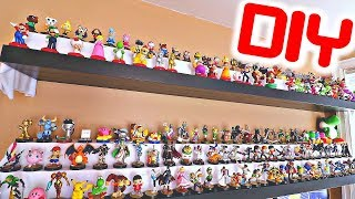Download HOW TO MAKE CUSTOM DIY Amiibo Shelves! (BEST WAY TO DISPLAY!) Video