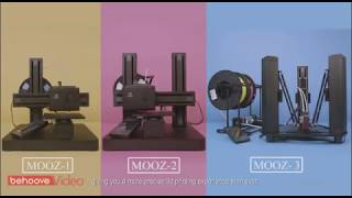 Download Mooz: Industrial Grade Transformable Metallic 3D Printer Video