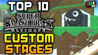 Download 10 AWESOME Custom Stage Builder Stages in Super Smash Bros. Ultimate [TetraBitGaming] Video