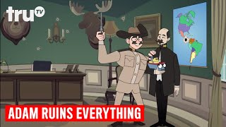 Download Adam Ruins Everything - How Teddy Roosevelt Stole Panama for the Canal | truTV Video