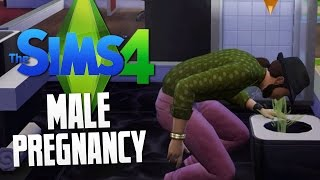 Download The Sims 4 - MALE PREGNANCY MOD - The Sims 4 Funny Moments #9 Video