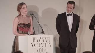 Download Emma Watson - Harpers Bazaar Women of the Year Awards 2016 speech (FULL HD) Video